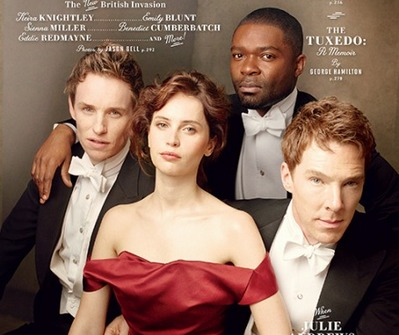2015/02/03 : Benedict looks stunning on Vanity Fair 2015 Hollywood Issue Cover
