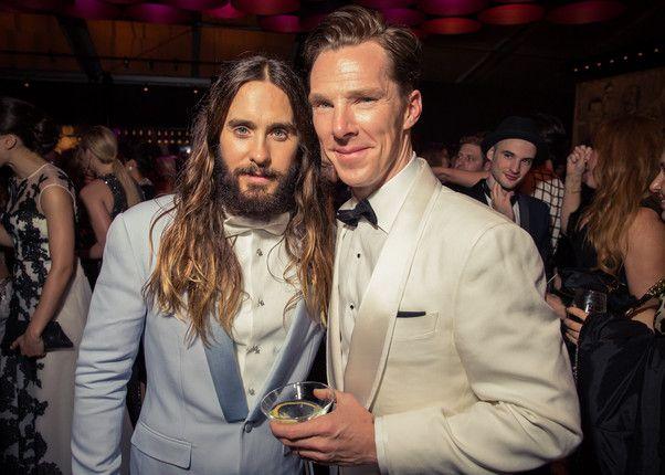 2015/02/22 : Benedict attends Vanity Fair Oscar Party 2015